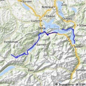 ncn 4 - Etappe 4 (Flüelen-Sörenberg)