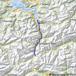 ncn 3 - Etappe 4 (Flüelen-Andermatt)