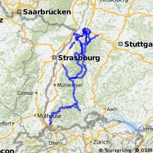Radwege im/am Schwarzwald