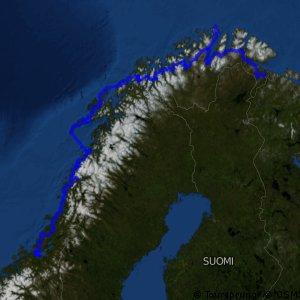 Nasjonal sykkelrute 1 (Trondheim–Nordkapp–Kirkenes)