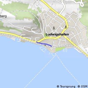 Hohenzollern-Weg Abschnitt Wahlwies–Ludwigshafen