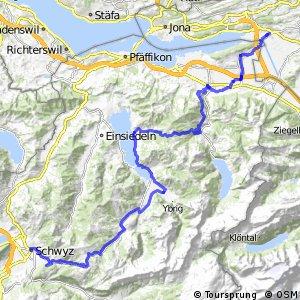 rcn 76 - Ibergeregg–Sattelegg-Linth (Schwyz–Uznach)