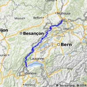 ncn 7 - Jura-Route (Basel-Nyon)