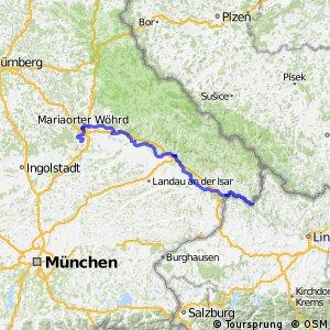 Radroute Donauradweg Part4