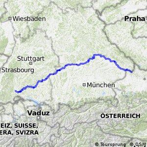 Radroute Donauradweg (DE)