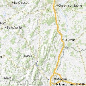 Voie Verte de Chalon-sur-Saône à Mâcon