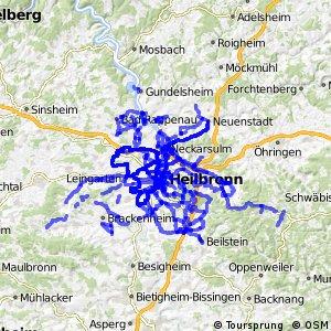 Radverkehrsnetz BW, Kreis Heilbronn