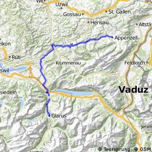 ncn 4 - Etappe 2 (Appenzell-Glarus)