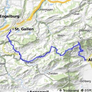rcn 55MTB - Wildmannli Bike (Etappe 3 Altstätten - St.Gallen)