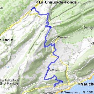 rcn 22 - Etappe 3 (Neuchâtel (Corcelles) - La Chaux-de-Fonds)