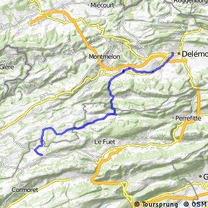 rcn 23 - Etappe 2 (Delémont - Tramelan)