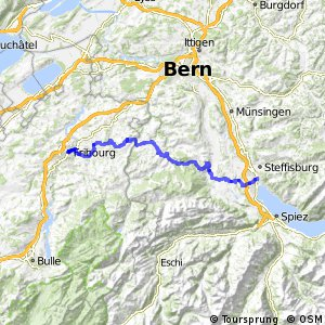 ncn 4 - Etappe 6 (Thun-Fribourg)