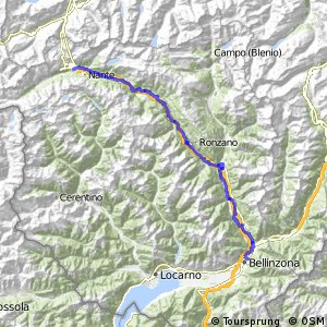 ncn 3 - Etappe 6 (Airolo-Bellinzona)