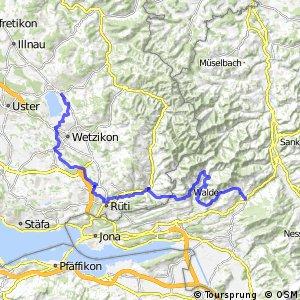 rcn 86 - Etappe 2 (Pfäffikon ZH-Wattwil (Ricken))
