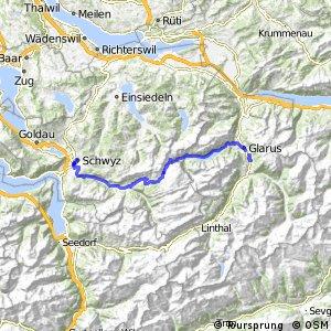 rcn 83 - Suworow Route Etappe 1 (Schwyz-Glarus)