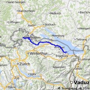 rcn 82 - Seerücken-Route (Schaffhausen-Arbon)