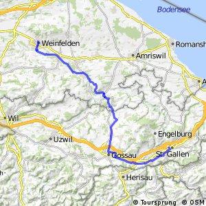 rcn 26 - Etappe 2 (Weinfelden - St. Gallen)