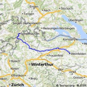 rcn 26 - Etappe 1 (Schaffhausen - Weinfelden)