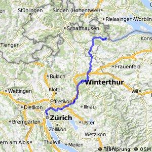 rcn 45 - Wyland-Downtown (Stein am Rhein-Zürich)