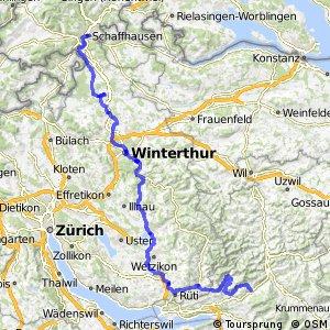 rcn 86 - Rheinfall–Zürcher Oberland (Schaffhausen-Wattwil (Ricken))
