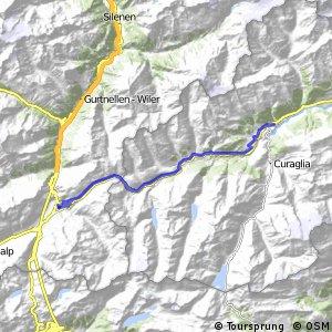 ncn 2 - Etappe 1 (Andermatt-Disentis)