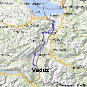 ncn 2 - Etappe 4 (Buchs (SG)-St. Margrethen)