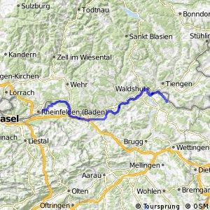 ncn 2 - Etappe 8 (Zurzach-Rheinfelden)
