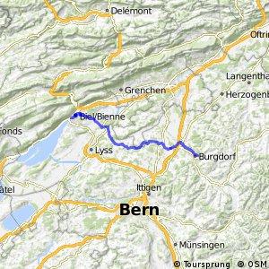 rcn 24 - Etappe 1 (Biel-Burgdorf)