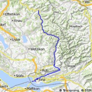 rcn 53 - Etappe 2 (Turbenthal-Rapperswil)