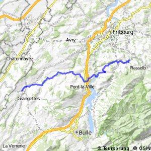 rcn 62 - Etappe 2 (Plaffeien-Romont(FR))