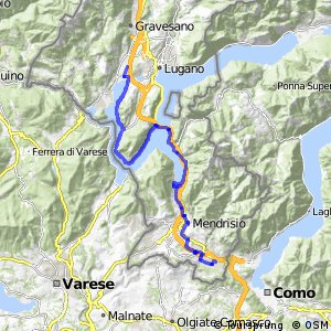 ncn 3 - Etappe 8 (Agno-Chiasso)