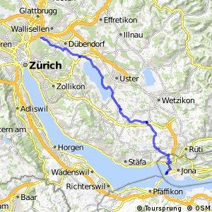 rcn 29 - Etappe 2 (Zürich (Schwamendingen)-Rapperswil)