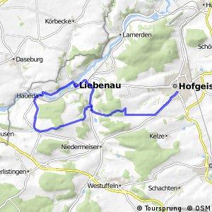 Liebenau Radroute 11
