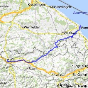 ncn 5 - Etappe 1 (Romanshorn - Wil (SG))