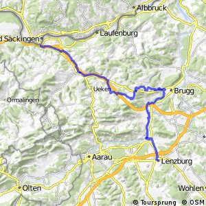rcn 56 - Etappe 2 (Lenzburg - Stein AG)