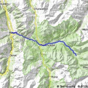 ncn 6 - Etappe 2 (Thusis-Bergün)