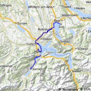ncn 9 - Etappe 6 (Sarnen-Zug)