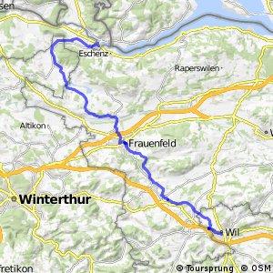 rcn 33 - Etappe 1 (Stein am Rhein-Wil (SG))