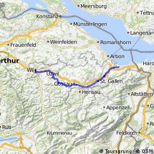 rcn 33 - Etappe 2 (Wil (SG)-Rohrschach)