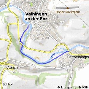 Vaihingen/Enz Verkehrsübungsplatz - Enzweihingen Bruckwasen