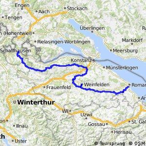 lcn 923 - Geo-Route (Rorschach - Schaffhausen)