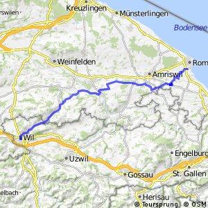 rcn 47 - Thurgauer Panoramaroute (Romanshorn - Wil SG)