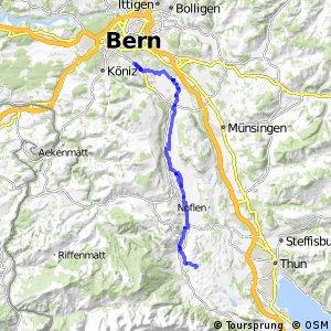 rcn 74 - Etappe 1 (Amsoldingen - Bern)