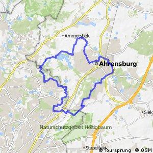 Tour 15, Radwander-Rundweg, Stormarn