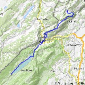 Jura Bike - Étape 8 (Ste-Croix—Le Sentier)