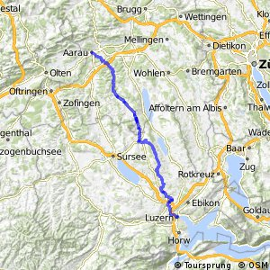 rcn 67 Wynental Route (Aarau-Luzern)