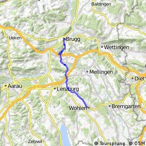 Brugg-Othmarsingen-Wohlen