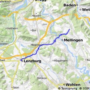 Fislisbach-Mägenwil-Lenzburg