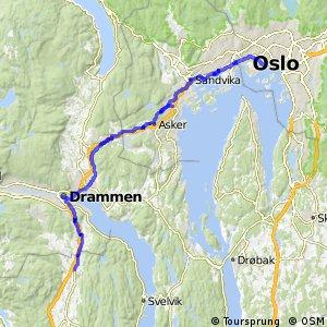 Nasjonal sykkelrute 1 (Indre Oslofjord)