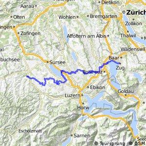 rcn 99 - Etappe 7 (Willisau - Zug)